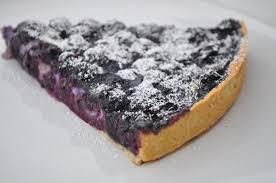 tarte aux myrtilles pâte à tarte amandine cuisine avec du