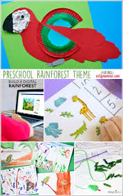 Preschool Activities Rainforest Theme
