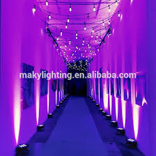 Maky Lighting 9pcs Led Par Can Battery Powered Wireless Wedding