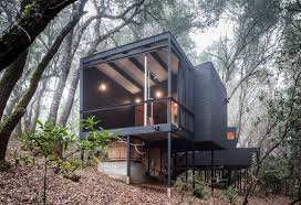 100 House In Forest A Cluster Of Interconnected Cabins In The Hills Of