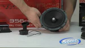 Coaxial Vs. Component Car Speakers - YouTube