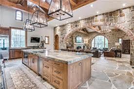 Mountain Kitchen Interior Landhausstil Küche Tuscankitchens Französische Landhausküchen Luxus Küche