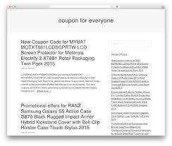 Omega Free WP Theme By ThemeHall - Couponforeveryone.net