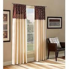 Sheer Curtains At Walmart by These Stylish Ikat Scroll Curtain Panels Are Designed To Block Out