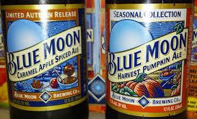 Harvest Pumpkin Ale by Amber Dawn Of The Dead Blue Moon Seasonal Ales