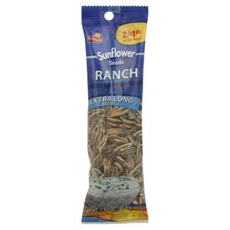 Frito Lay Sunflower Seeds, Ranch, Extra Long - 1-3/4 oz (49.6 g)