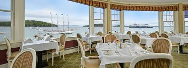 The Reading Room Fine Dining On Bar Harbors Scenic Waterfront