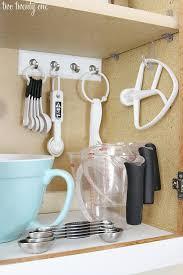 10 Life Changing Ways To Use Command Hooks Inside CabinetsRedo Kitchen CabinetsDiy