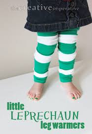 the creative imperative st patrick u0027s day leg warmers