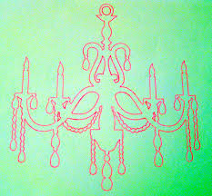How To Draw A Chandelier Easy Musethecollective