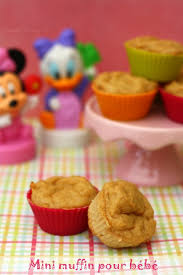 cuisine pour bebe mini muffin pour bébé à la compote de pomme amandine cooking