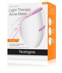 Neutrogena Light Therapy Acne Mask And Mask Activator Two Pack 60