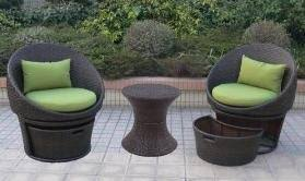 plastic wicker patio furniture
