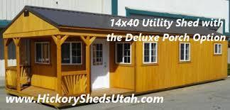 Old Hickory Sheds UTAH Buildings Barns Cabins Garage Storage UT