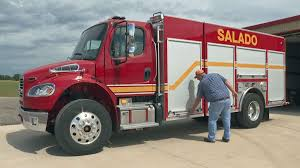 100 Rescue Truck Salado VFD Replaces Rescue Truck Destroyed By Fire