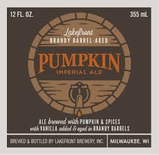 Lakefront Pumpkin Lager by Lakefront Brewing Archives Beer Street Journal