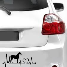 Fashionable Cute Horse Heartbeat Decorative Car Sticker Car Styling ... Fashionable Cute Horse Hrtbeat Decorative Car Sticker Styling In Loving Memory Of Decals Two Quarter Name Date Car Window Amazoncom Eye Candy Signs Running Decal Window Running Horse Truck Trailer Vinyl Decal Decals 7 X70 Ebay Want A Stable Relationship Buy Funny Vinyl Flaming Side Graphics Decal Decals Truck Mustang Trailer Flames Cut Auto Xtreme Digital Graphix Gate Open For Lovers Riders Reflective Heart Creative Cartoon Animal Bull Cow Head Skull Silhouette Body Jdm Art Tilted Cat 14x125cm Noahs Cave