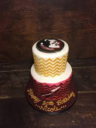 Sweet T s Cake Design FSU Seminole Birthday Cake