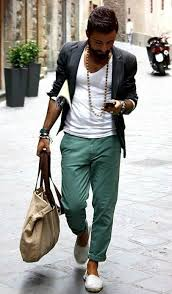 Mens Bohemian Fashion For Summer