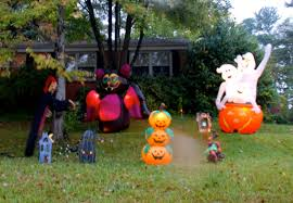 Halloween Yard Inflatables 2014 by Halloween Inflatables Greensboro Daily Photo
