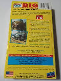 100 Videos Of Big Trucks Amazoncom MachinesRoad Construction VHS Machines