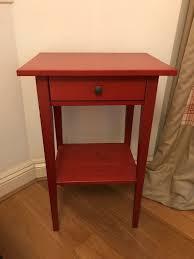 Ikea Hemnes Desk Uk by Ikea Hemnes Bedside Table Red In Islington London Gumtree