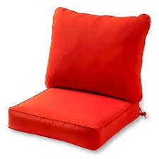 Kohls Memory Foam Chair Pads by Red Outdoor Chair Pads U0026 Cushions Home Decor Kohl U0027s