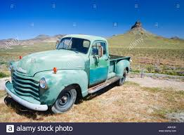 USA ARIZONA ROUTE 66 COOL SPRINGS GAS STATION CHEVY TRUCK 1951 2-TON ...