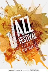 Jazz Music Poster Background Design