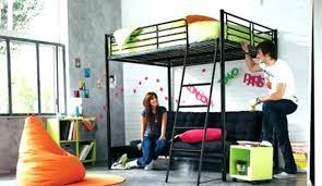mezzanine canapé lit en hauteur avec canape lit en hauteur avec canape lit