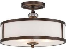 semi flush ceiling lights semi flush mount lighting luxedecor