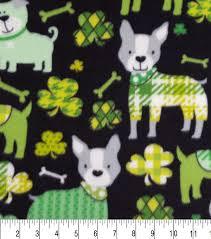 Decorator Pattern C Logging by Lucky Irish Fleece Fabric 59