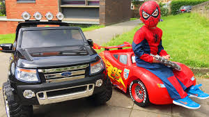 Awesome Car And Truck Videos - Spider-Man Ride Cars Lightning ... Video Find Godzilla And A Trophy Truck Terrorize The Desert Motor Trucks For Kids Assembly Cartoon Children Monster Kids With Blippi Educational Videos Game Play Actions Channel Cement Mixer Vehicles For Trucks Fire Children Engines Best Of 2014 Ambulances Police Cars To Off Road Racing Lots Videos Youtube Youtube