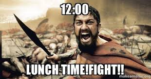 1200 LUNCH TIMEFIGHT