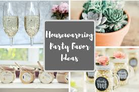 14 Party Favor Ideas For Your Housewarming