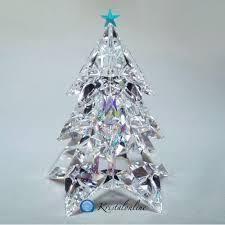 Swarovski Silver Crystal Christmas Tree