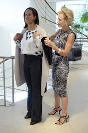 Designer Max Mara Dresses MNFs Lisa Salters To The Nines