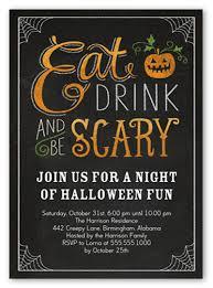 Halloween Potluck Sign In Sheet by 18 Halloween Invitation Wording Ideas Shutterfly