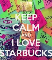 Coffee Keep Calm And Starbucks Image