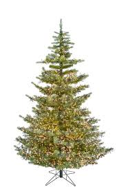 9 Ft Forest Artificial Christmas Tree Warm White Cluster LED Lights MSRP 159999