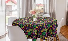 abakuhaus tischdecke kreis tischdecke abdeckung für esszimmer küche dekoration gemüse bio lebensmittel kaufen otto
