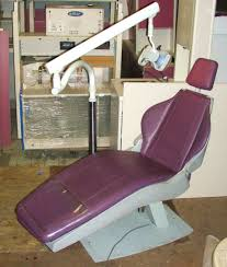 Marus Dental Chair Foot Control by Dome Ortho Chair With Fixed Base Pre Owned Dental Inc