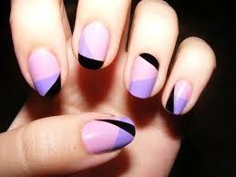 Different Colour Nail Art Design