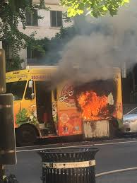 100 Dc Food Trucks DC Truck Catches On Fire In Northwest DC Superheroes Hideaway