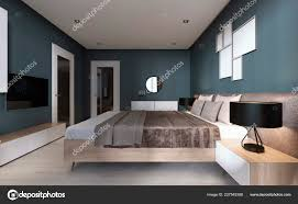 Contemporary Bedroom Dark Blue Walls Light Furniture Two ... Apartment Living Room Interior With Red Sofa And Blue Chairs Chairs On Either Side Of White Chestofdrawers Below Fniture For Light Walls Baby White Gorgeous Gray Pictures Images Of Rooms Antique Table And In Bedroom With Blue 30 Unexpected Colors Best Color Combinations Walls Brown Fniture Contemporary Bedroom How To Design Lay Out A Small Modern Minimalist Bed Linen Curtains Stylish Unique Originals Store Singapore