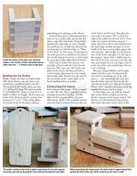 Making Wooden Toy Trains by Wooden Train Plans U2022 Woodarchivist