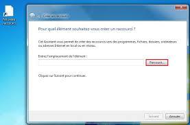 raccourci connexion bureau à distance windows créer un raccourci logiciel sur le bureau clubic