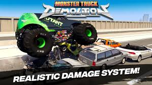 100 Demolition Truck Monster For Android APK Download