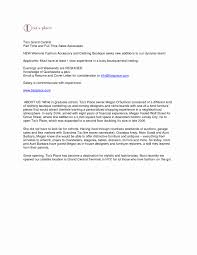 Resume For Retail Sales Associate With No Experience Lovely Consultant Cover Letter Sample