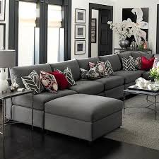 Red And Black Living Room Decorating Ideas by Best 25 Gray Couch Decor Ideas On Pinterest Living Room Decor
